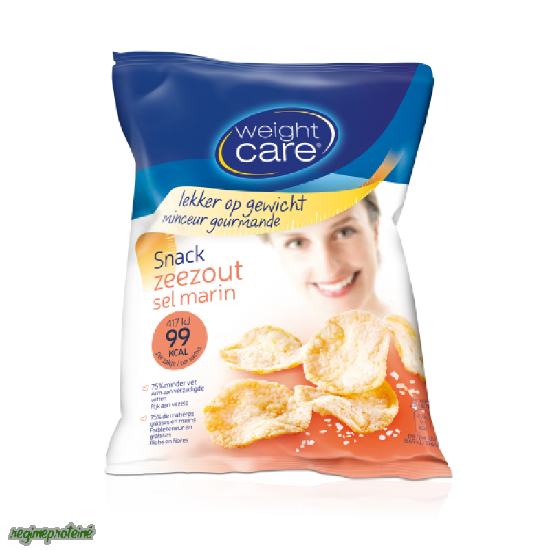 Weight Care Snack - Chips Sel marin